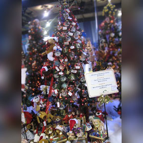 Kennedy Krieger Festival of Trees, by Dogs Finding Dogs
